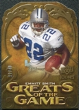 2009 Upper Deck Icons Greats of the Game Die Cut #GGES Emmitt Smith /40