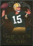 2009 Upper Deck Icons Greats of the Game Gold 199 #GGST Bart Starr /199