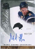2008/09 Upper Deck The Cup #62 Marc-Andre Gragnani RC Autograph /199