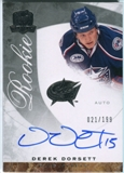 2008/09 Upper Deck The Cup #63 Derek Dorsett RC Autograph /199