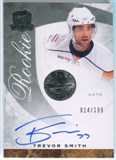 2008/09 Upper Deck The Cup #69 Trevor Smith Autograph /199