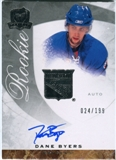 2008/09 Upper Deck The Cup #70 Dane Byers Autograph /199