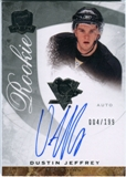 2008/09 Upper Deck The Cup #71 Dustin Jeffrey Autograph /199