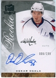 2008/09 Upper Deck The Cup #78 Oskar Osala Autograph /199
