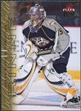 2009/10 Fleer Ultra Gold Medallion #86 Pekka Rinne