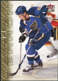 2009/10 Fleer Ultra Gold Medallion #129 David Perron