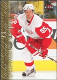 2009/10 Fleer Ultra Gold Medallion #187 Niklas Kronwall