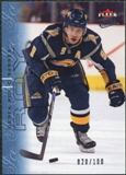 2009/10 Fleer Ultra Ice Medallion #17 Derek Roy /100