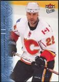 2009/10 Fleer Ultra Ice Medallion #23 Daymond Langkow /100
