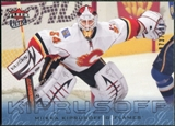 2009/10 Fleer Ultra Ice Medallion #25 Miikka Kiprusoff /100