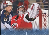 2009/10 Fleer Ultra Ice Medallion #28 Cam Ward /100