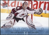 2009/10 Fleer Ultra Ice Medallion #38 Peter Budaj /100