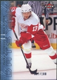 2009/10 Fleer Ultra Ice Medallion #52 Pavel Datsyuk /100