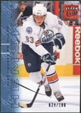 2009/10 Fleer Ultra Ice Medallion #58 Ales Hemsky /100