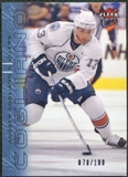 2009/10 Fleer Ultra Ice Medallion #60 Andrew Cogliano /100
