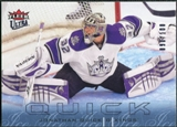 2009/10 Fleer Ultra Ice Medallion #72 Jonathan Quick /100