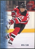 2009/10 Fleer Ultra Ice Medallion #90 Patrik Elias /100