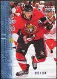 2009/10 Fleer Ultra Ice Medallion #104 Jason Spezza /100