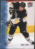 2009/10 Fleer Ultra Ice Medallion #120 Rob Scuderi /100