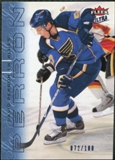 2009/10 Fleer Ultra Ice Medallion #129 David Perron /100