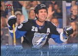 2009/10 Fleer Ultra Ice Medallion #132 Martin St. Louis /100