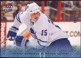 2009/10 Fleer Ultra Ice Medallion #140 Tomas Kaberle /100