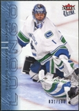 2009/10 Fleer Ultra Ice Medallion #144 Roberto Luongo /100