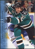2009/10 Fleer Ultra Ice Medallion #161 Brad Lukowich /100