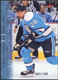 2009/10 Fleer Ultra Ice Medallion #163 Eric Godard /100