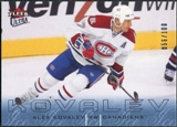 2009/10 Fleer Ultra Ice Medallion #179 Alex Kovalev /100
