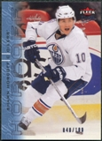 2009/10 Fleer Ultra Ice Medallion #186 Shawn Horcoff /100