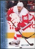 2009/10 Fleer Ultra Ice Medallion #188 Tomas Holmstrom /100