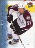 2009/10 Fleer Ultra Ice Medallion #192 Cody McLeod /100