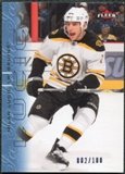 2009/10 Fleer Ultra Ice Medallion #198 Milan Lucic /100
