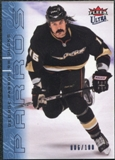 2009/10 Fleer Ultra Ice Medallion #200 George Parros /100