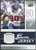 2009 Upper Deck Game Jersey #GJAJ Andre Johnson