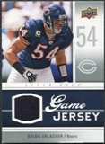 2009 Upper Deck Game Jersey #GJBU Brian Urlacher
