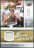 2009 Upper Deck Game Jersey #GJDB Drew Brees