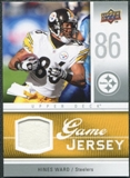2009 Upper Deck Game Jersey #GJHW Hines Ward