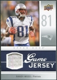 2009 Upper Deck Game Jersey #GJRM Randy Moss