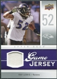 2009 Upper Deck Game Jersey #GJRL Ray Lewis