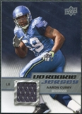 2009 Upper Deck Rookie Jersey #RJAC Aaron Curry