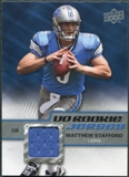 2009 Upper Deck Rookie Jersey #RJST Matthew Stafford