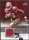 2009 Upper Deck Rookie Jersey #RJMC Michael Crabtree
