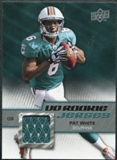 2009 Upper Deck Rookie Jersey #RJPW Pat White