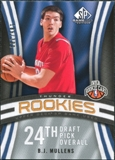 2009/10 Upper Deck SP Game Used #102 B.J. Mullens RC /399