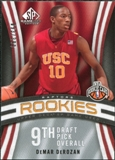 2009/10 Upper Deck SP Game Used #112 DeMar DeRozan RC /399