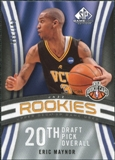 2009/10 Upper Deck SP Game Used #115 Eric Maynor RC /399