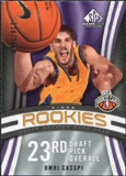 2009/10 Upper Deck SP Game Used #128 Omri Casspi RC /399