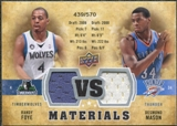 2009/10 Upper Deck VS Dual Materials #VSMF Desmond Mason Randy Foye /570